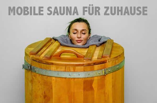 Mobile Sauna - transportable Sauna